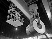 Inventory of processed steel rolls
