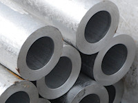 Bundle of welded stainless steel tubes