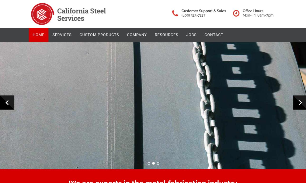 California Steel Services