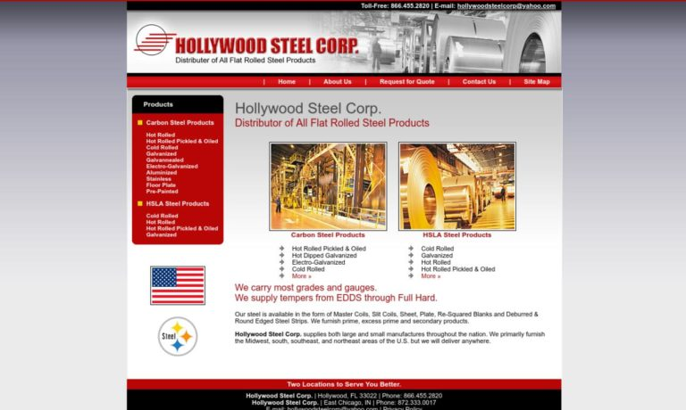 Hollywood Steel Corp.