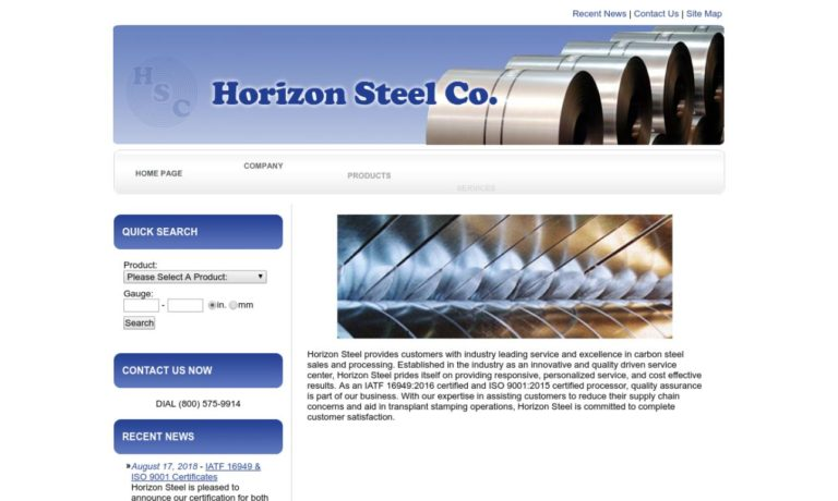 Horizon Steel Co.