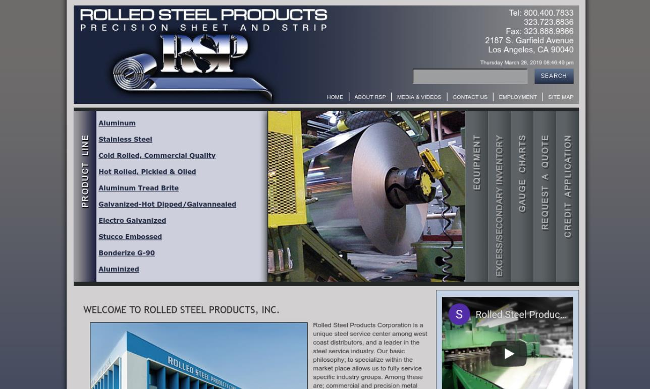 Rolled Steel Products Corporation