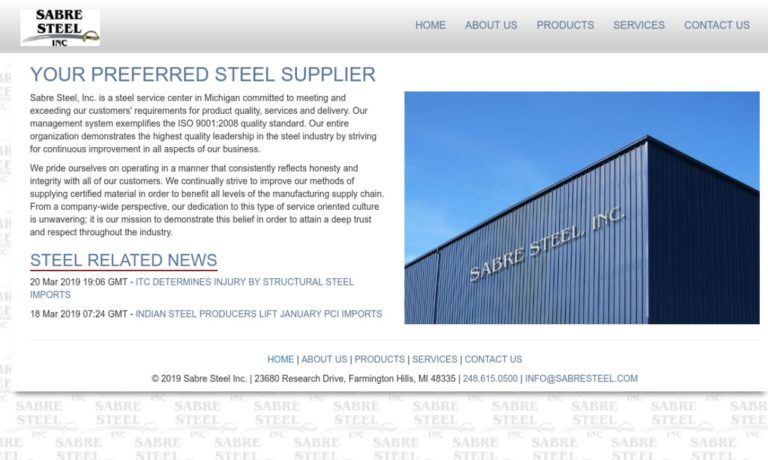 Sabre Steel, Inc.