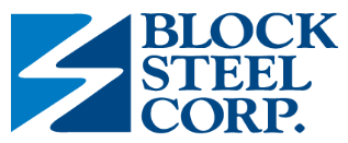 Block Steel Corp. Logo