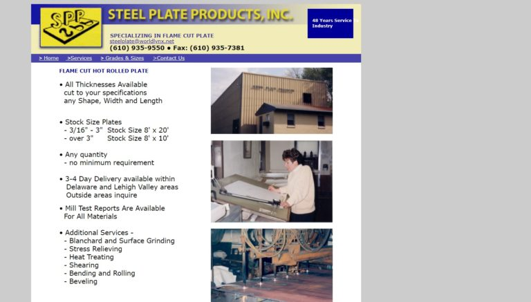 Steel Plate Products, Inc.