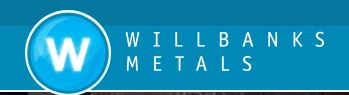 Willbanks Metals,  Inc. Logo